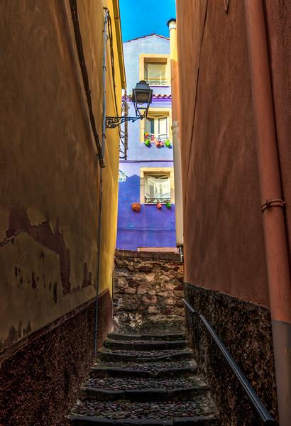 Bosa stairway