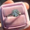 2.03ct Art Deco Transitional Cut Diamond Solitaire 7