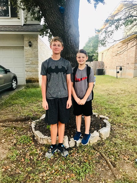 Dylan and Cohen | 10th grade and 5th grade | Leander High School and Pleasant Hill Elementary