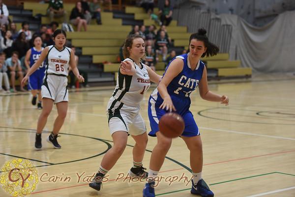 1-23-18 Girls JV Basketball
