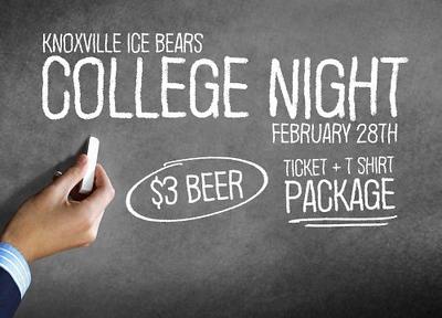 Ice Bears (2) v Macon (1) 02-28-2020 College Night