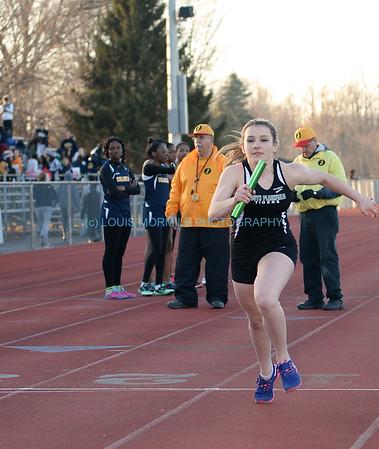 SPHS Girls Spring Track - 4/1/2015