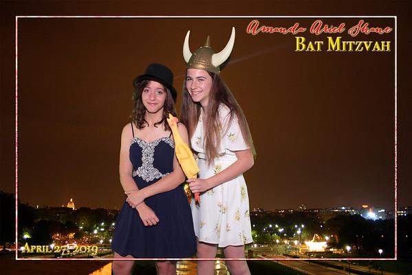 Amanda's Bat Mitzvah - 4/27/2019