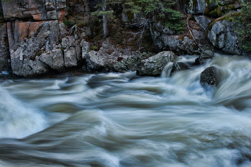Rushing River Water 007 | Wall Art Resource