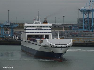 Zeebrugge, Belgium 18 Oct 2012