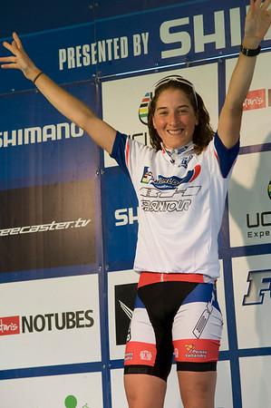World Cup leader Julie Bresset -  BH - Suntour - Peisey Vallandry