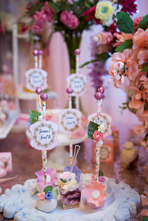 Flower Theme Sweet 16
