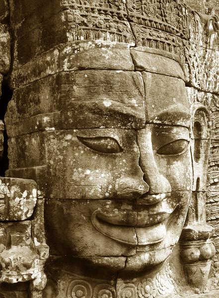 bodhisattva Avalokitesvara, the Bayon, Angkor Thom