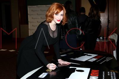"NEW YORK, NY - APRIL 22:  BAFTA New York celebrates ""Mad Men"" at The Harvard Club on April 22, 2013 in New York City."