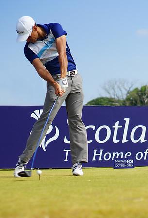 Scottish Open Golf 2013