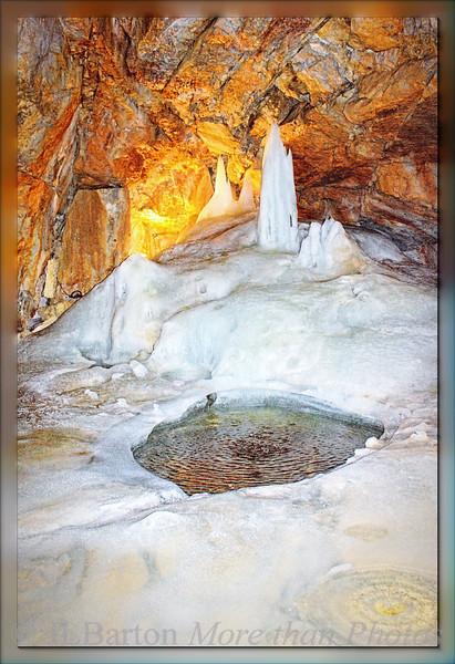 Giant Ice Cave Dachstein, Austria