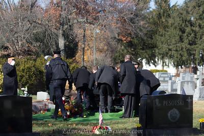11/19/2014, Funeral for Star Cross Fire Co. Life Memeber Joe Petsch Sr.