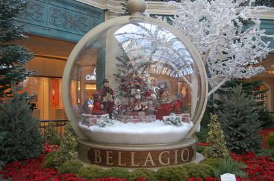 Bellagio hotel binnentuin