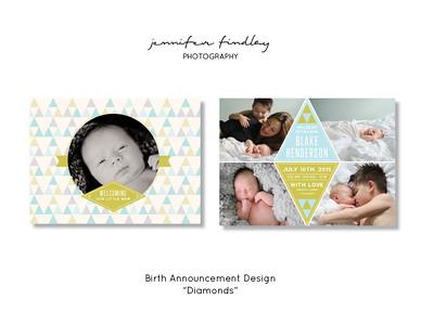 Birth Announcement Designs