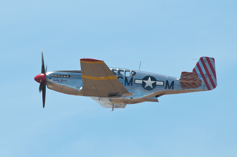 """Betty Jane"" in flight!"