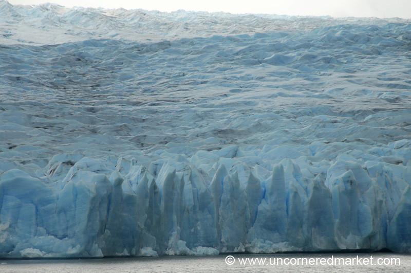Massive Gray Glacier - Torres del Paine National Park, Chile