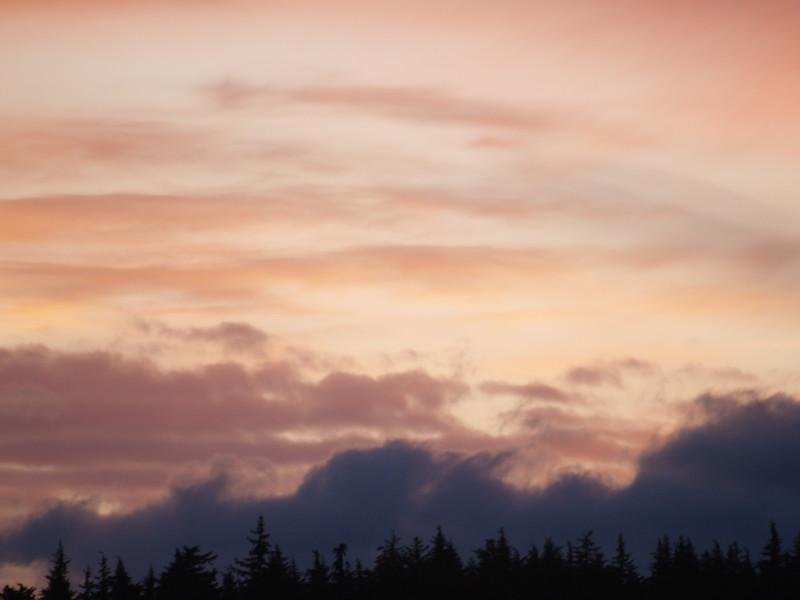 Mid-September sunset