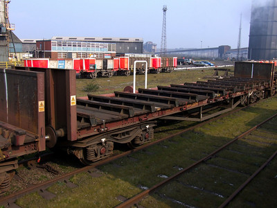 BMA - Bogie Steel Plate Wagon