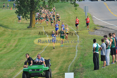 Gallery 1, JV Girls Race 1 - 2013 OU Golden Grizzly High School Invite