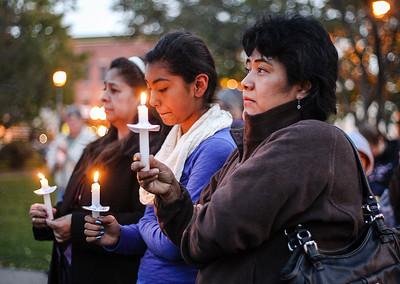 20141008 - Violence Candlelight Vigil (SN)