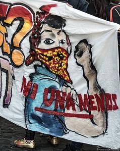 'Not one less' Demonstration 26 november 2016