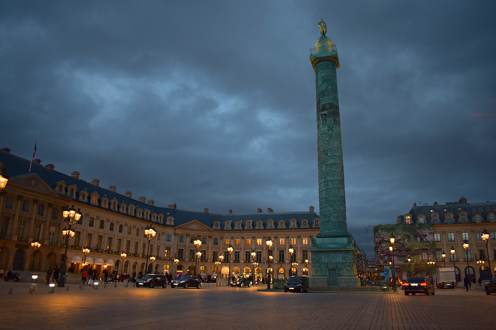 Place Vendôme in Paris, France