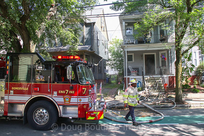 Somerville, MA - 2nd Alarm, 37 Willow Ave, 8-9-19.