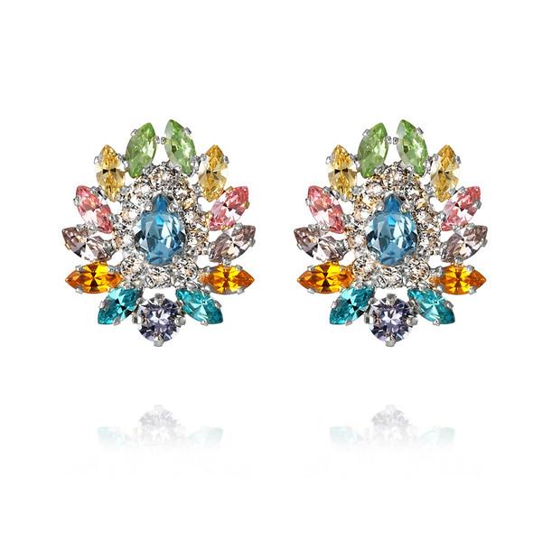 Iro-Earrings : Rainbow Combo rhodium.jpg