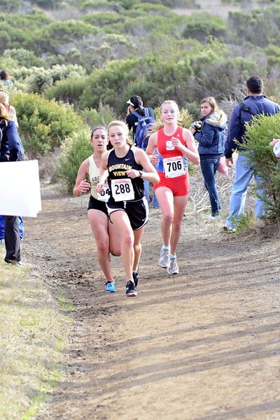 Then, sealing the deal and the Division 2 championship was our other Phoenix, oops, I mean Emily: Emily Andrew, running 19:49 (a 35-second PR) to give us all five scorers under 20 minutes, and hitting exactly the time I had pulled out of a hat for her to run!