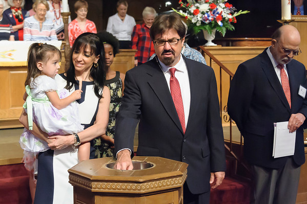 Madison's Baptism 5-26-2013