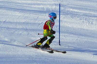 Feb 11 Brule J456 Girls SL 1st race 2nd run