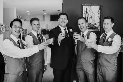 Groom & Groomsmen Getting Ready
