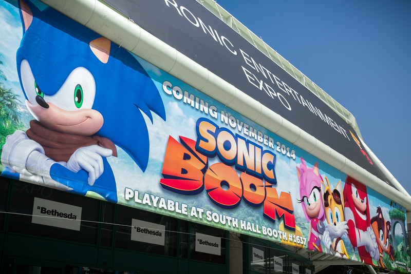 2014 06/11 to 06/12: Sonic Boom at E3