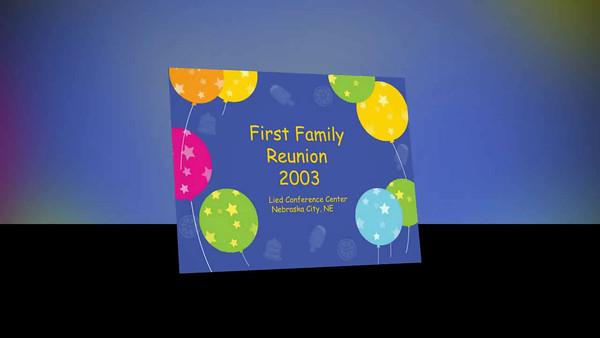 2003-2006 FAMILY REUNIONS