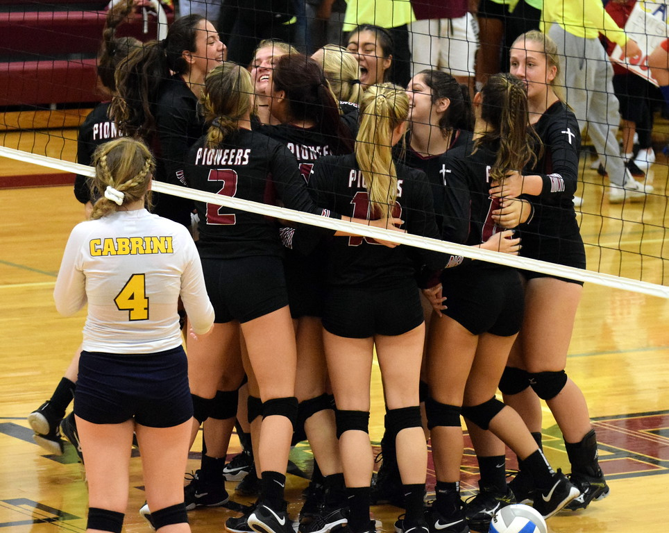 . Riverview Gabriel Richard welcomed in rival Allen Park Cabrini on Wednesday night and defeated the Monarchs 3-1 (19-25, 25-18, 25-10,  25-17). Frank Wladyslawski - Digital First Media