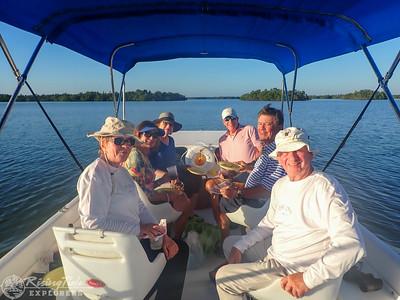 Sunset Bird Rookery Boat Cruise - Williams