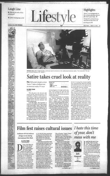 Daily Trojan, Vol. 142, No. 35, March 02, 2001