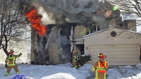 Ridge Rd. E - Structure Fire 2-10-2011