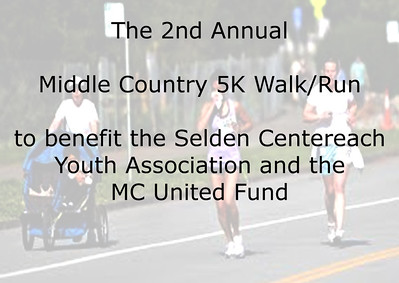 5K Walk/Run, Middle Country
