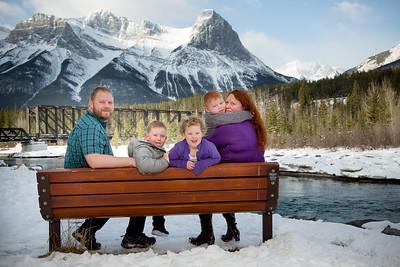 Brown Family plus Three