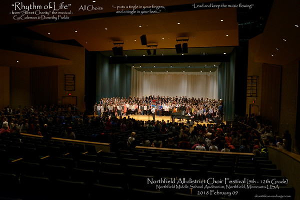 District Choirs 2018 February