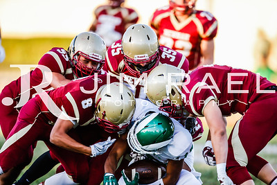 Cardinal Newman Football vs St Mary's 2015