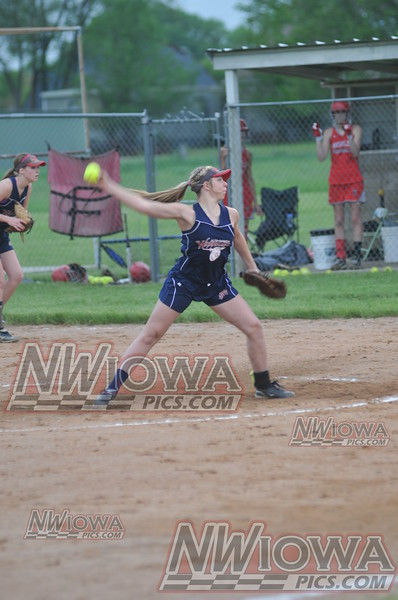 Alta-Aurelia vs Sioux Central Softball 5/29/2013