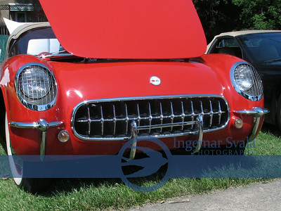 July 12, 2014, The Best looking Corvettes are back for Vermilion's Summer Fair !