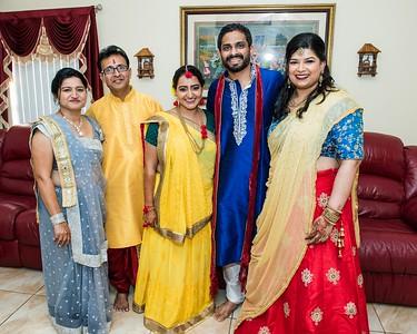 Dharini  weds Jigar