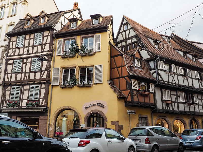 Smallest house in Colmar, France