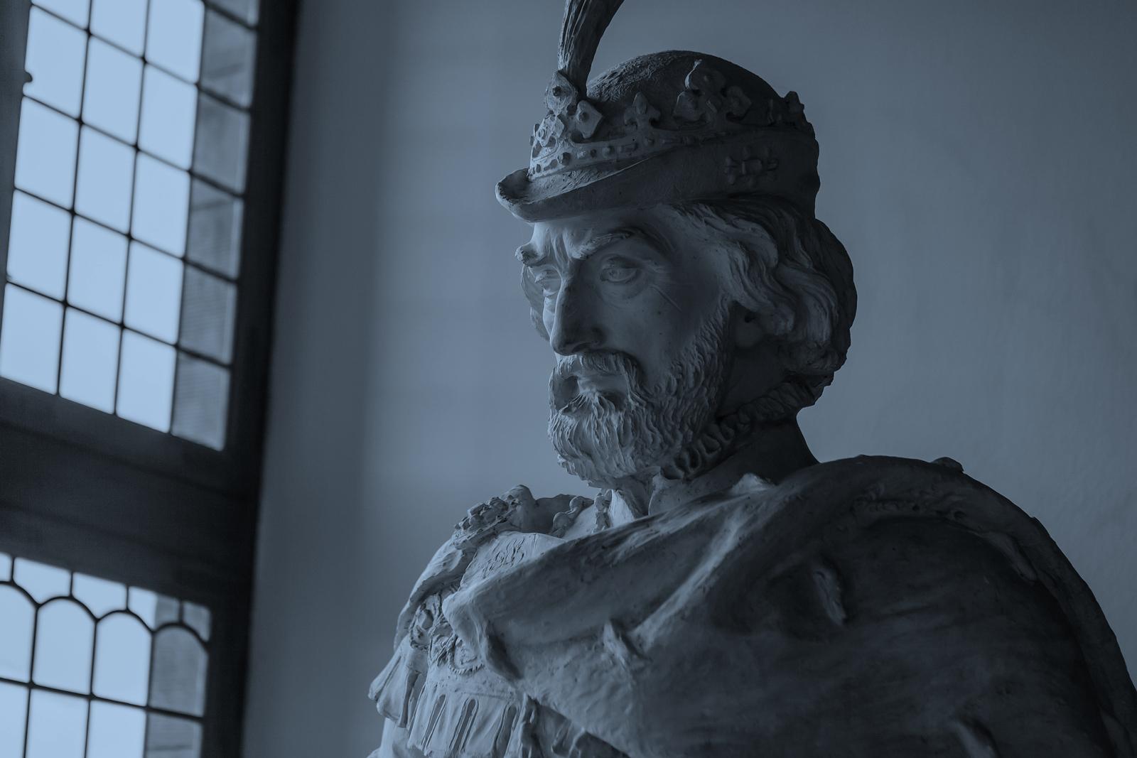 丹麥腓特烈堡城堡,琳琅滿目的室內雕塑