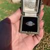 1.11ct Old European Cut Diamond Filigree Ring 45