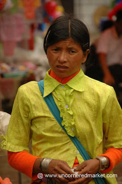 Woman Deep in Thought - Xishuangbanna, China