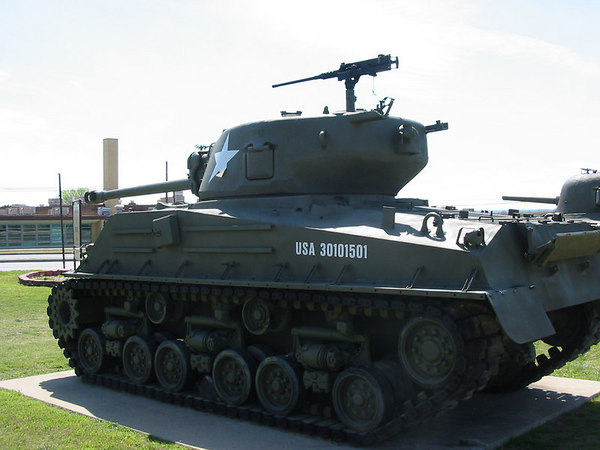 M4A3 HVSS 76mm - 3rd ID Musuem - Ft. Hood, Texas